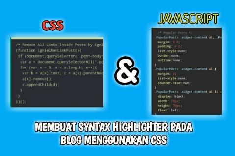 Membuat Syntax Highlighter Pada Blog Menggunakan CSS