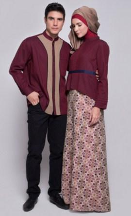 Model Baju Couple Pesta Untuk Pasangan Muslim
