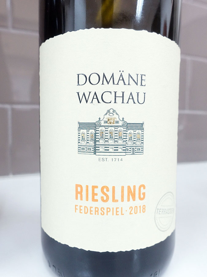Domäne Wachau Terrassen Federspiel Riesling 2018 (89 pts)