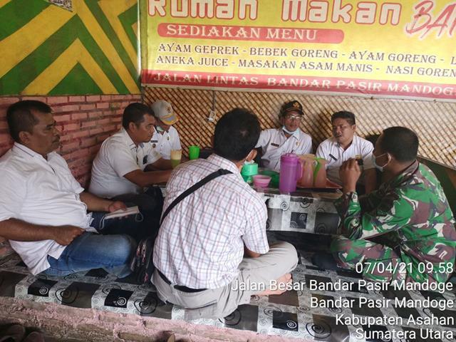 Jalin Hubungan Silaturahmi, Personel Jajaran Kodim 0208/Asahan Laksanakan komunikasi Sosial Dengan Warga