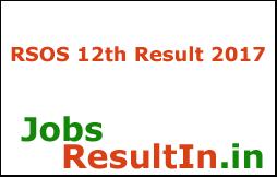 RSOS 12th Result 2017