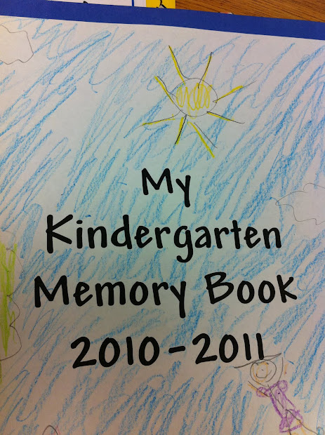 Adventures Of 1 Teacher Kindergarten Memory Book