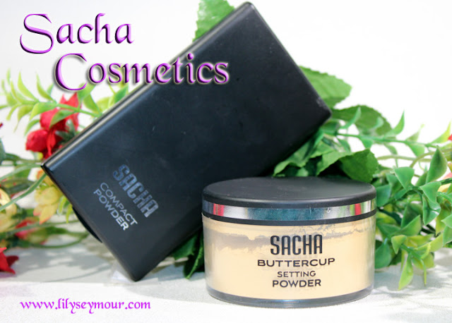 Sacha Cosmetics Buttercup Setting Powder and Compact Powder
