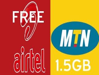 MTN & Airtel Free 50MB Daily