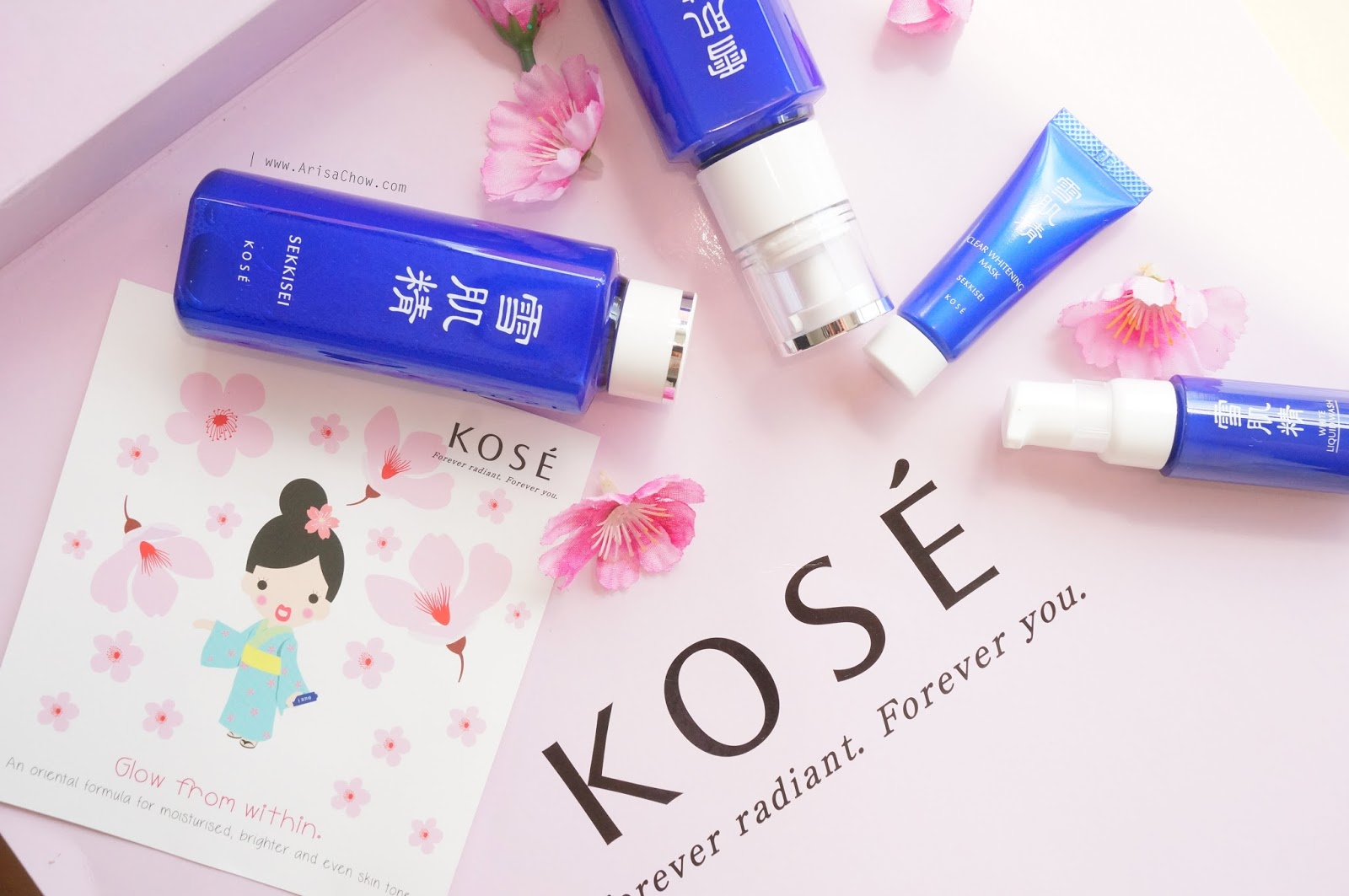 Kose Sekkisei Review Glow From Within Welcome Whitening Cream Jepang I Can Vouch For This Product Entirely As Their Formula Does Wonders My Skin Aside Just Making It Radiant And Supple Also Lighten Up Acne