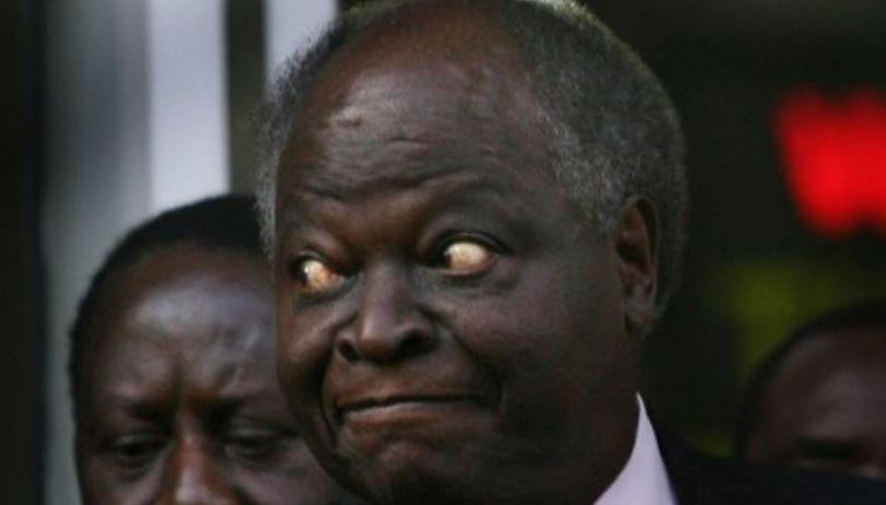 Is Mwai Kibaki Dead