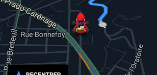 Mario day - mario dans google maps