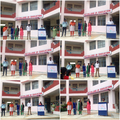 Independence Day and International Youth Day Celebration in KIIT Gurgaon