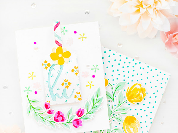 Hi Wonderful - The Stamp Market + Pinkfresh Studio