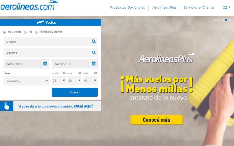 tabla de millas aerolineas argentinas