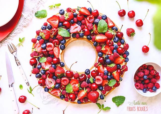 Tarte-fruits-rouges-ete