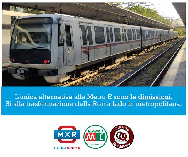 I cittadini hanno bisogno della Metro E, non di chiacchere