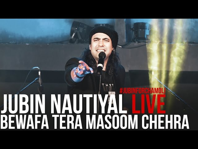 Bewafa Tera Masoom Chehra || Lyrics Video Song || Live Performance Video 2021|| Jubin Nautiyal