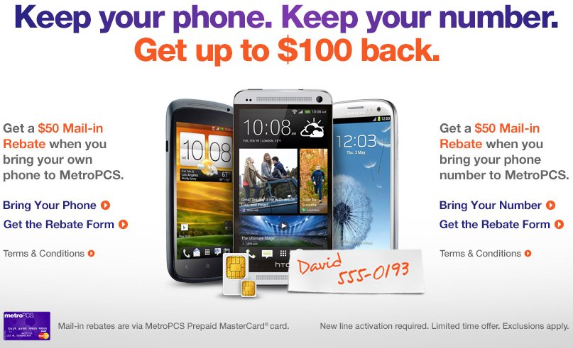Get 100 For Porting Your Number And Using Your Own Phone On Metro