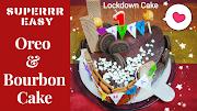 Super Easy Oreo Bourbon Layered Chocolate Cake Recipe