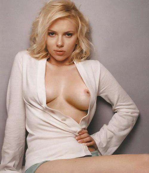 Scarlett Johansson Milky Boobs
