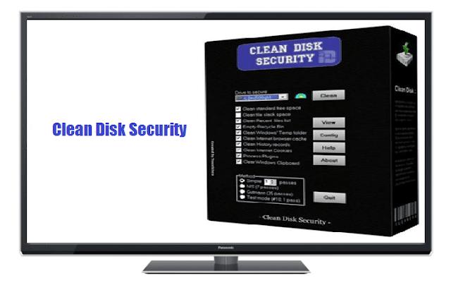 برنامج Clean Disk Security لحذف الملفات نهائياً من الكمبيوتر