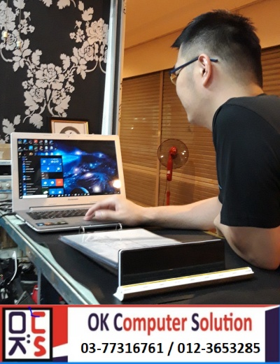 [SOLVED] CANNOT ON LENOVO Z500 | KEDAI REPAIR LAPTOP DAMANSARA 8