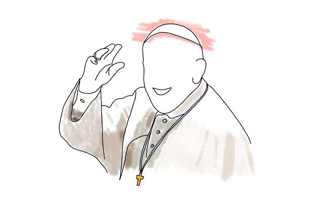 capital riga, pope francis, pope holiday latvia, pope cartoon, 2018
