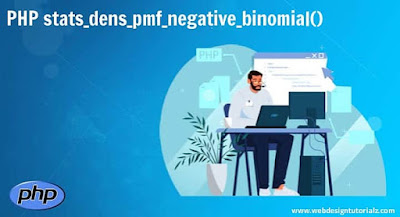 PHP stats_dens_pmf_negative_binomial() Function