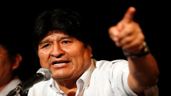 Evo Morales rechaza orden de aprehensión en su contra