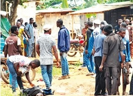 Members of Aye Confraternity on Rampage, Kill 11 in Ogun to Mark '7/7' Anniversary (Photos)
