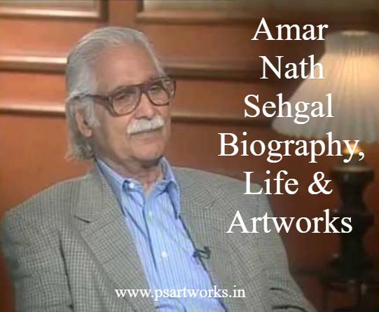 Amar Nath Sehgal (b. 1922)