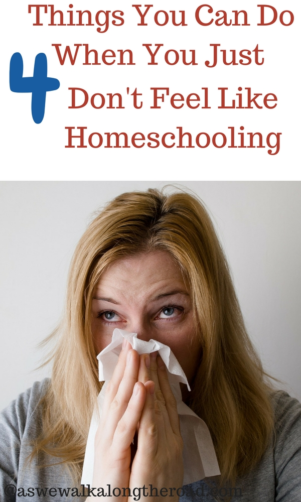 Ideas for a sick homeschooling mom