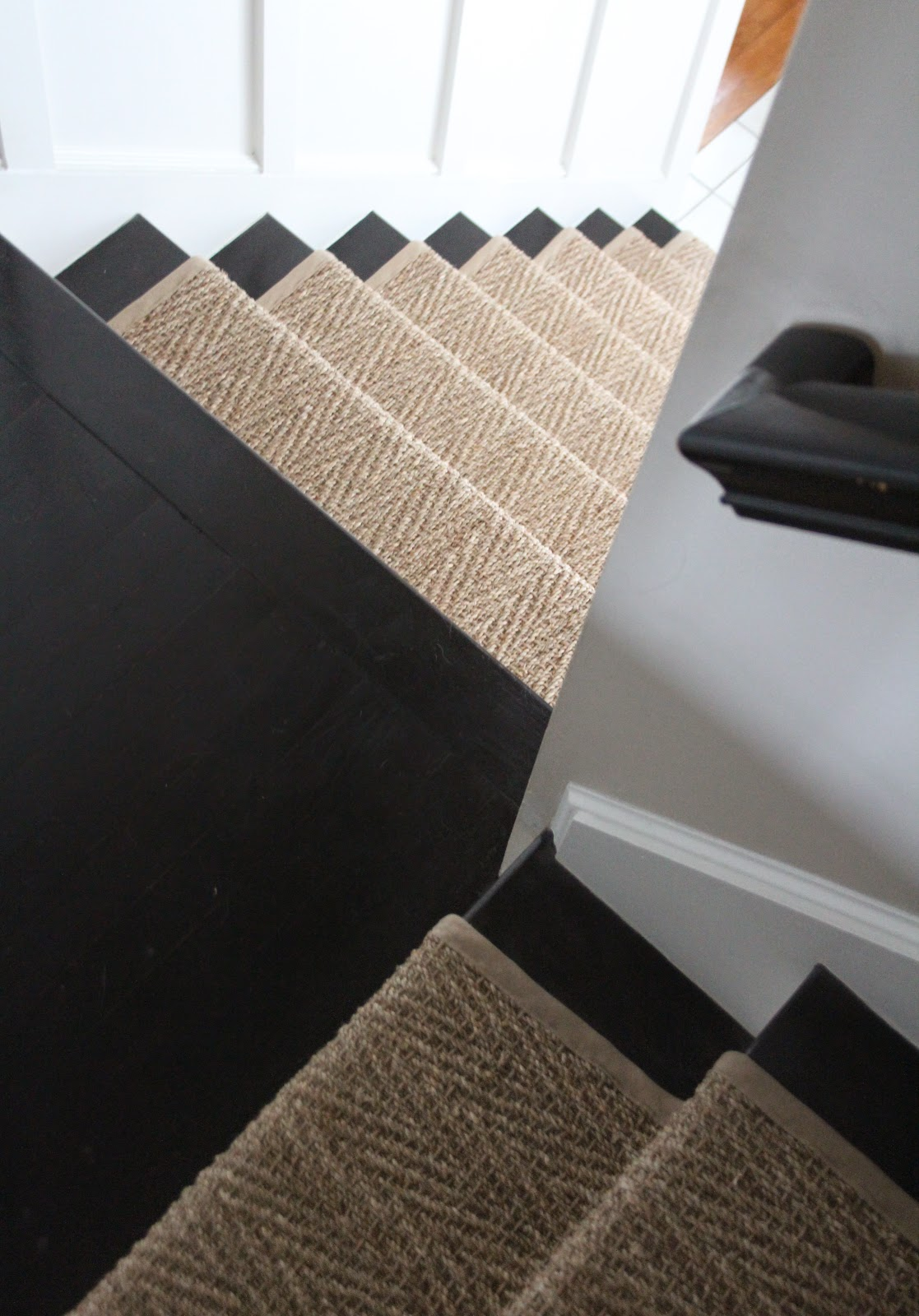 Lighting Basement Washroom Stairs: Shine Your Light: How Our Natural Fiber Stair Runner Has