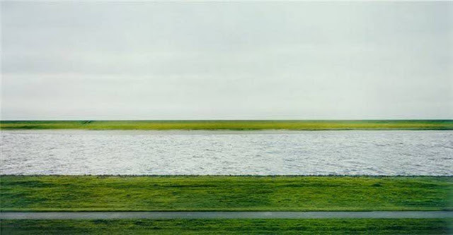 'Rhein II', de Andreas Gursky