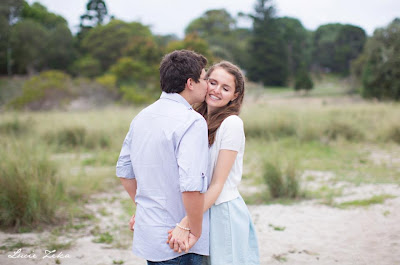 Engagement Shoot in Centennial Park, Sydney - Lucie Zeka - Kristy and Jesse