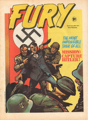 Fury #16, Mission Capture Hitler