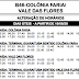 B46 COLÔNIA FARIA/VALE DAS FLORES | Horário de ônibus 2021 | Colombo PR