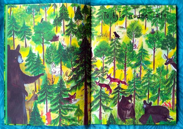 Przyjemnie nudne lato w lesie