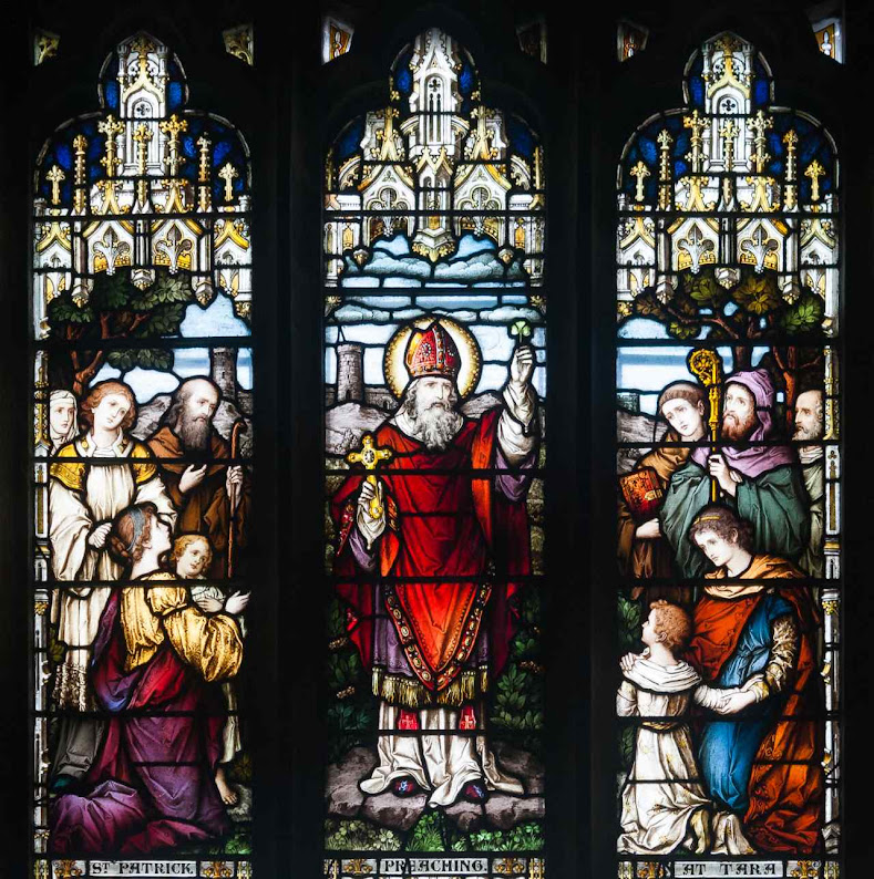 São Patrício pregando, St. Patrick's Cathedral (RC), Armagh, County Armagh, Irlanda do Norte