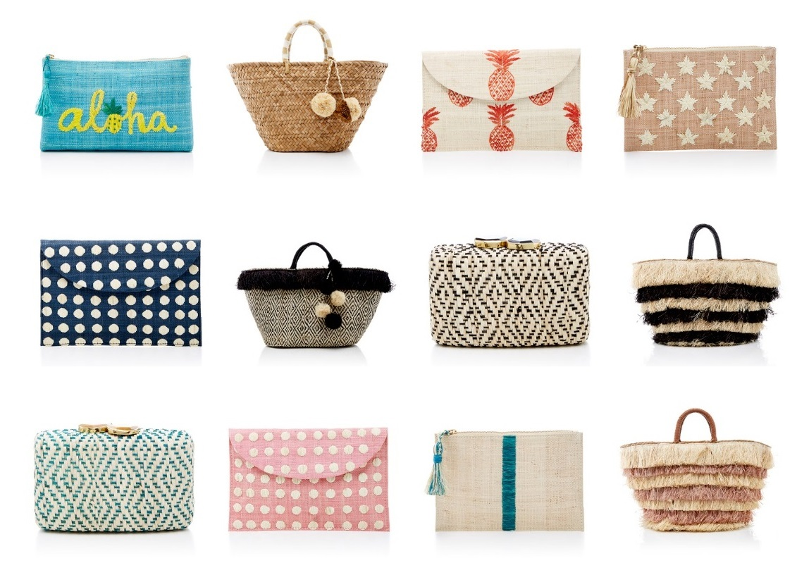 Kayu beach bags by Jamie Lim Designs