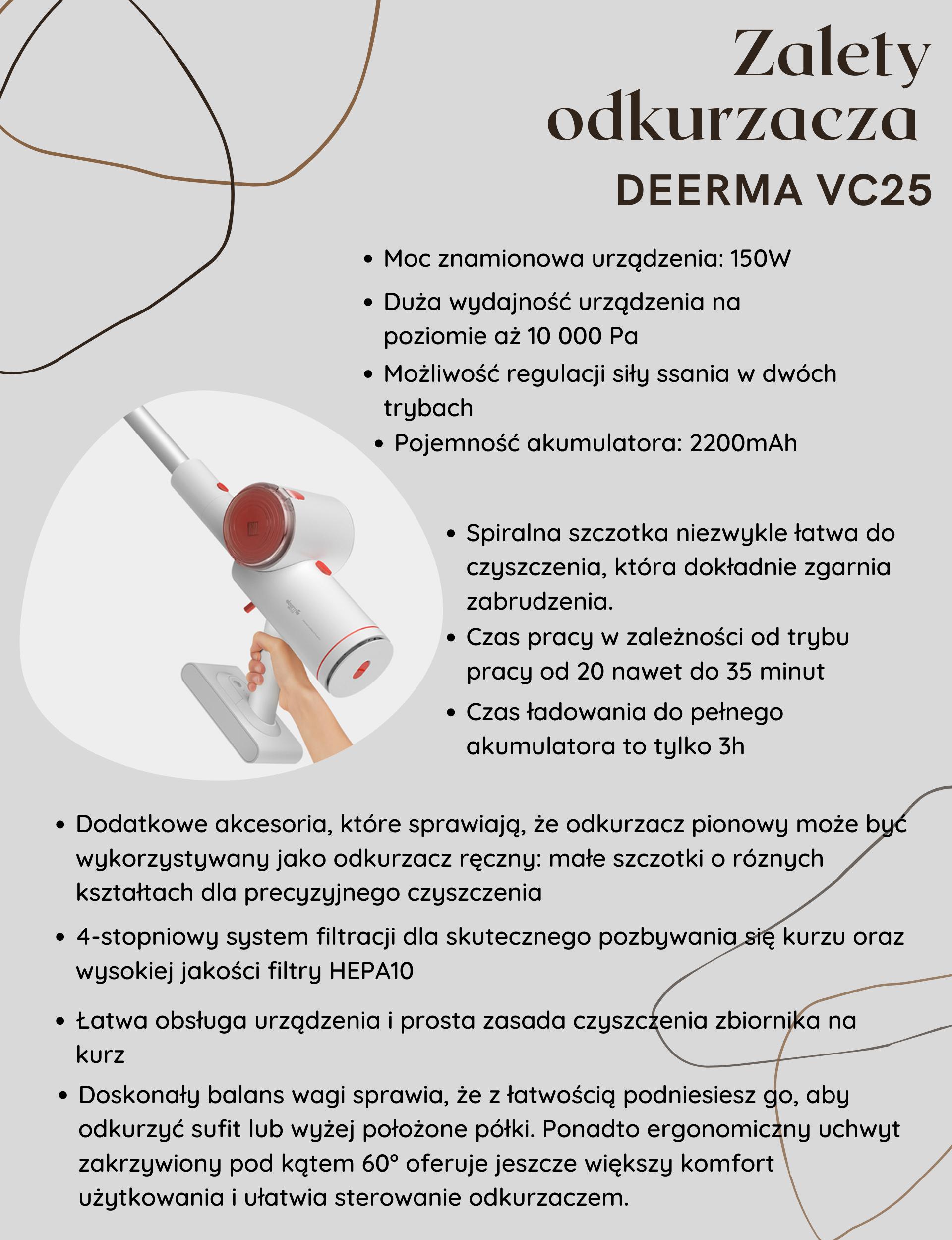 Odkurzacz Deerma VC25 zalety.png