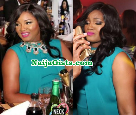 omotola jalade weight loss