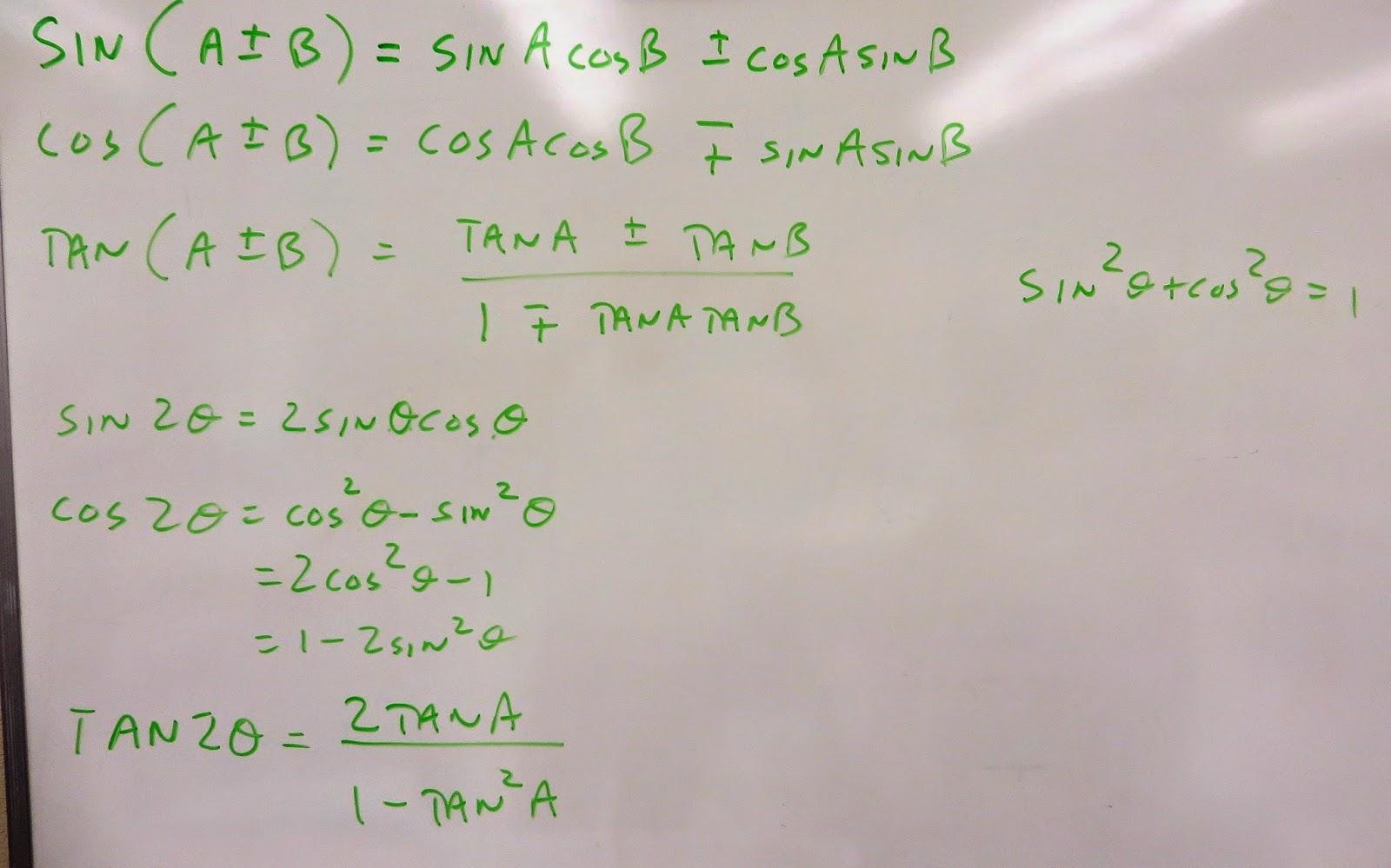 MHF 4U Mr  O's classes Semester 1 201415: Solving