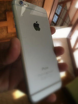 You can find IMEI number on the back of your iPhone upto iPhone 6 Plus only