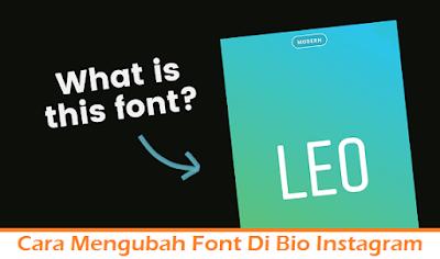 Cara Mengubah Font Di Bio Instagram (Termudah.com)