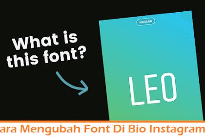 Cara Mengubah Font Di Bio Instagram dengan 2 Metode Mudah