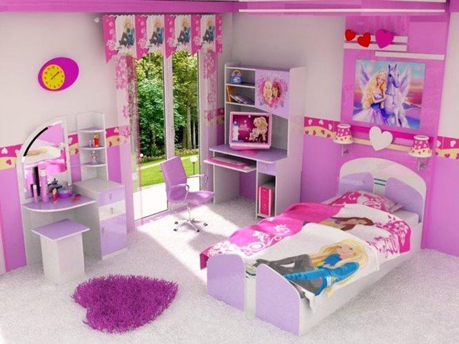 Barbie Bedroom Design Decorating Ideas Decorating And Home Design