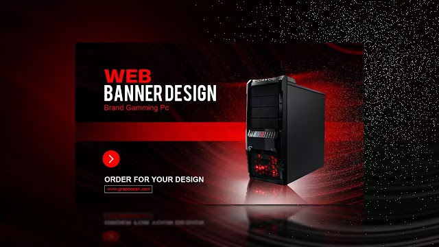 How To Design Professional Website Banner - Adobe Photoshop Tutorial