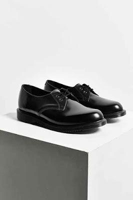 Dr Martens Black Oxford Shoes