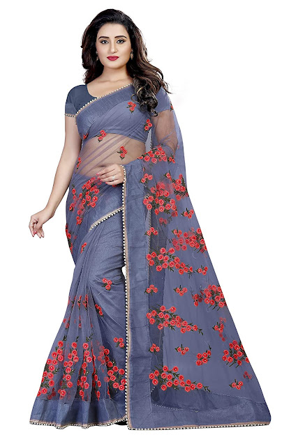 Mono Net Saree