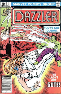 The Dazzler #7, the Incredible Hulk