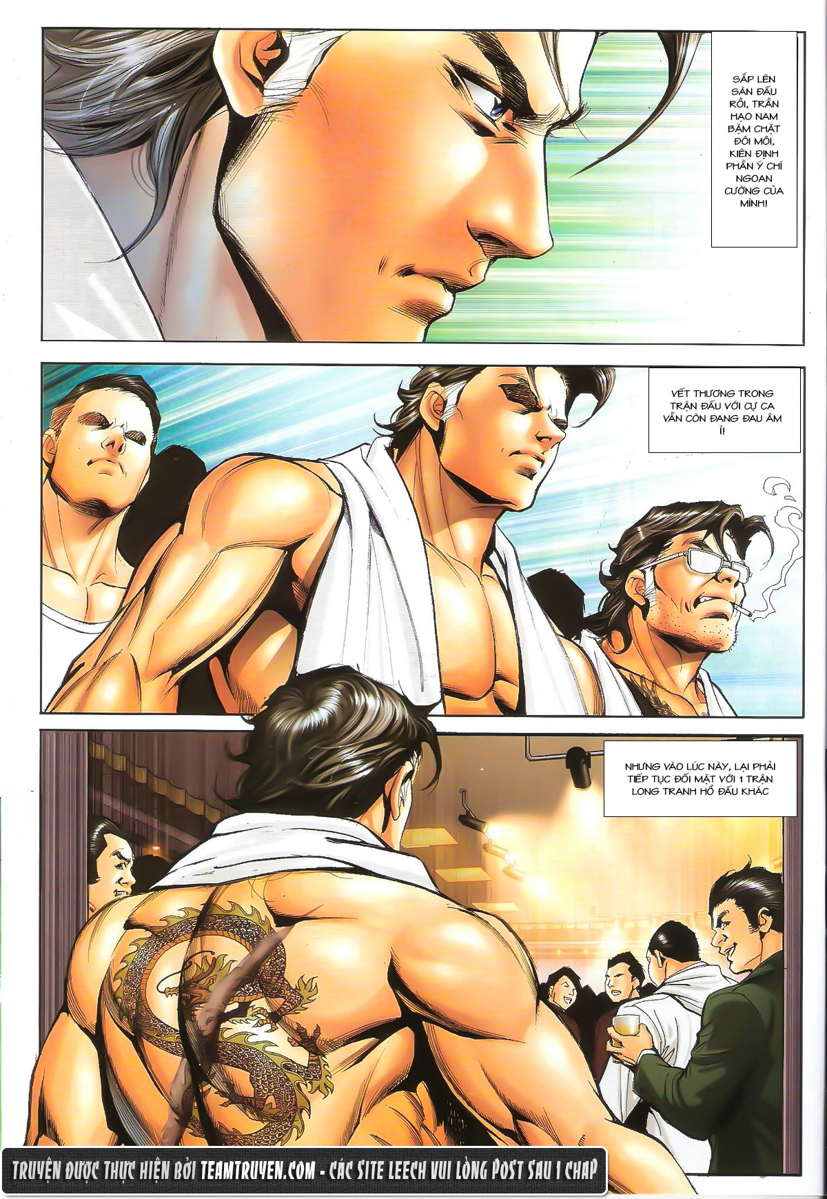 Người Trong Giang Hồ chapter 1632: ác chiến la tâm tả trang 20
