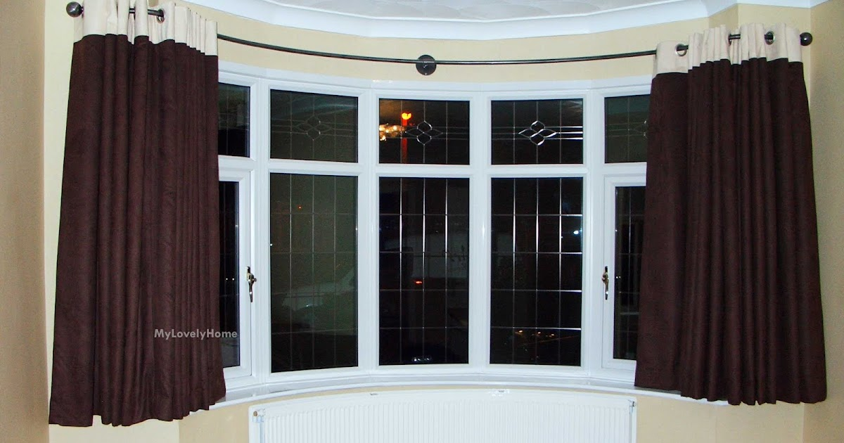 5 Sided Bay Window Curtain Rod Pictures Ideas My Lovely Home