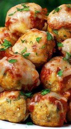★★★★★ 6700 Ratings : 30-Minute Chicken Parmesan Meatball Poppers #Instantpot #Bangbang #Shrimp #Pasta #vegan #Vegetables #Vegetablessoup #Easydinner #Healthydinner #Dessert #Choco #Keto #Cookies #Cherry #World #foodoftheworld #pasta #pastarecipes #dinner #dinnerideas #dinnerrecipes #Healthyrecipe #Pastarecipe #Pizzarecipe #salad